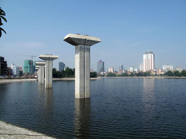 Nhật Bản hỗ trợ dự án đường sắt đô thị Hà Nội