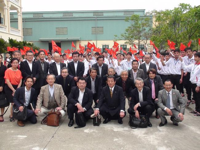 36 nam làm linh kiện điện  tử tại OSAKA và SHIZUOKA