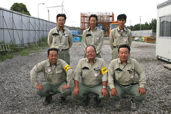 8 Kỹ sư xây dựng tại Nagano tháng 6/2014