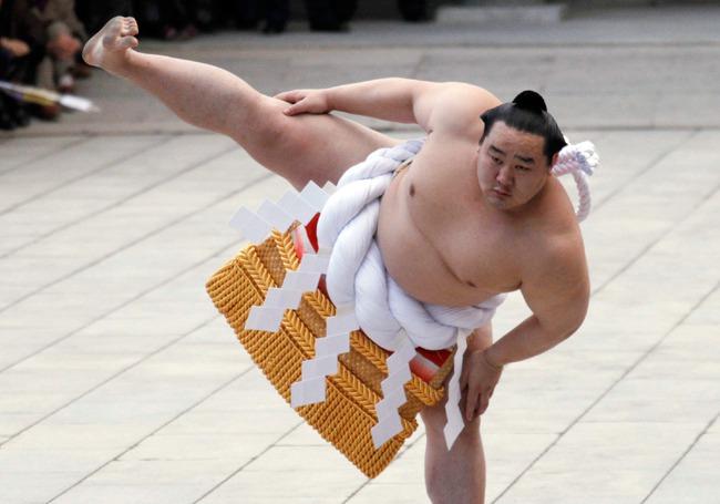 Sumo – môn võ thể hiện tinh hoa dân tộc của Nhật Bản