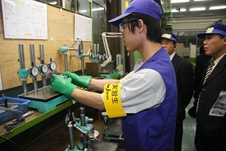 Quy định chương trình tu nghiệp sinh Nhật Bản