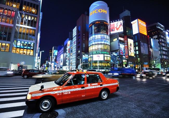 Văn hóa Taxi ở Nhật Bản