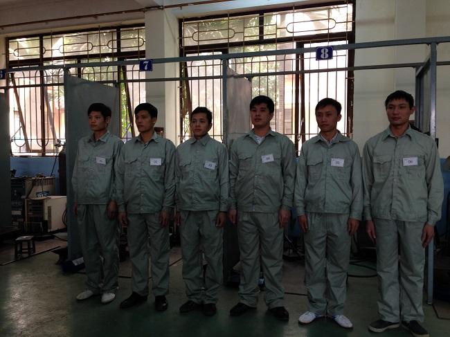 Đào tạo tay nghề hàn cho học viên tham gia tại công ty 4/2014