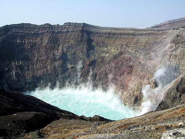 5 ngọn núi lửa nguy hiểm bậc nhất tại Nhật Bản
