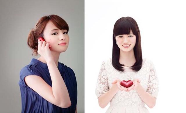 Mẫu điện thoại di động hình trái tim đang gây sốt tại Nhật Bản