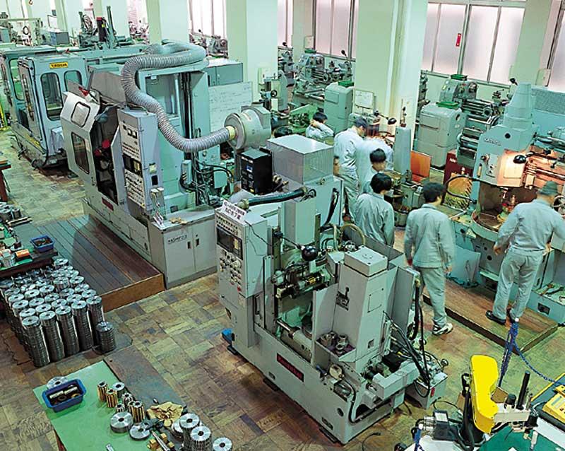 30 Nam làm cơ khí chế tạo tại Okayama tháng 3/2015