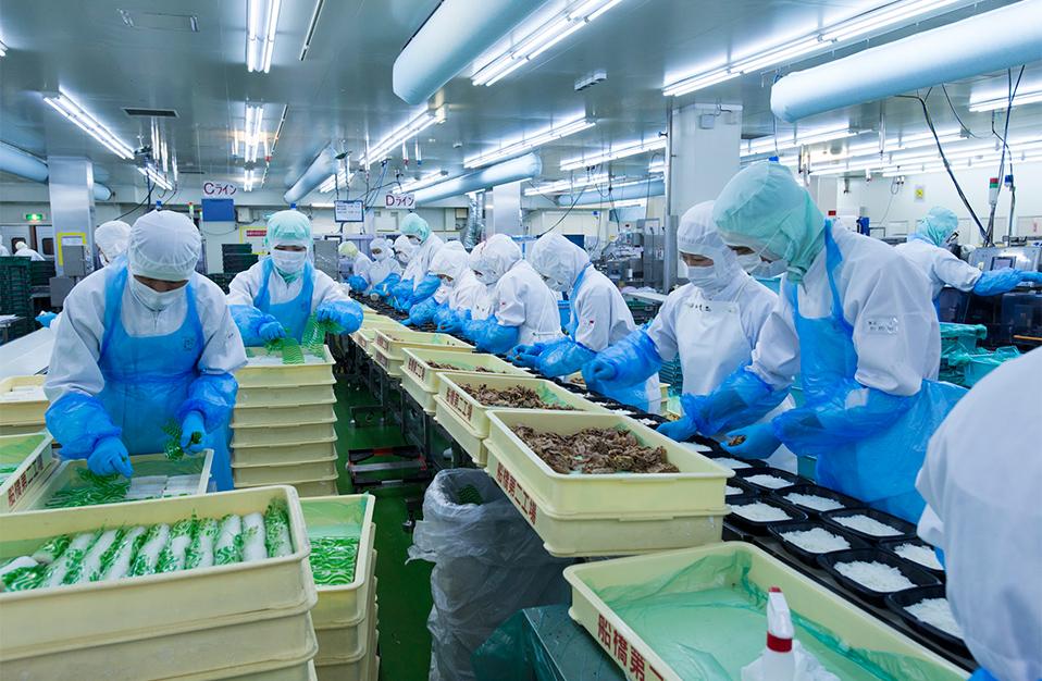20 Nữ làm chế biến thực phẩm tại Nagano tháng 3/2015