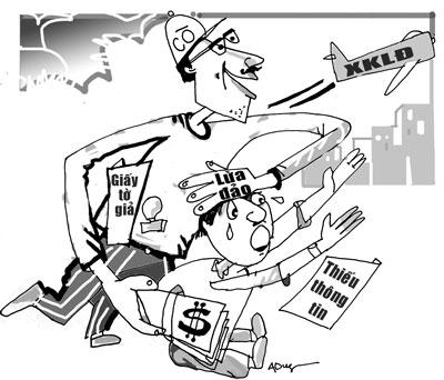 Lừa đảo xuất khẩu lao động - Thực trạng và giải pháp
