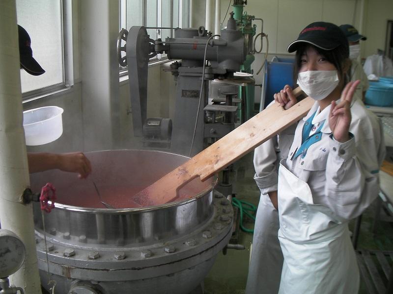 10 Nữ và 22 Nam chế biến thực phẩm tại Fukushima tháng 8/2015