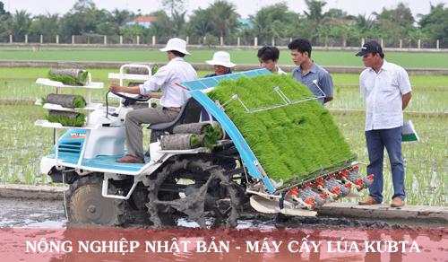 Nông nghiệp công nghệ cao - Máy cấy lúa tại nhật bản