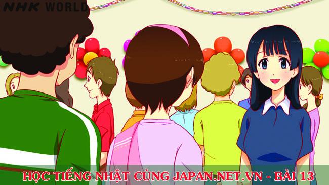 Cùng nhau học tiếng Nhật NHK - Bài 13: Tôi thích tiểu thuyết