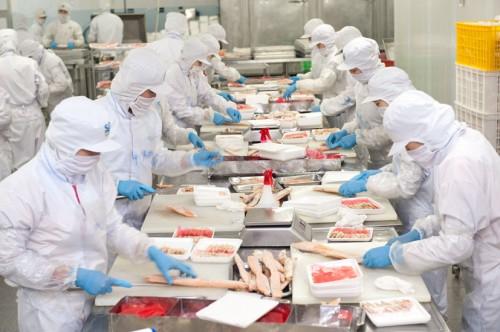 30 Nữ làm chế biến thực phẩm tại Osaka tháng 2/2015