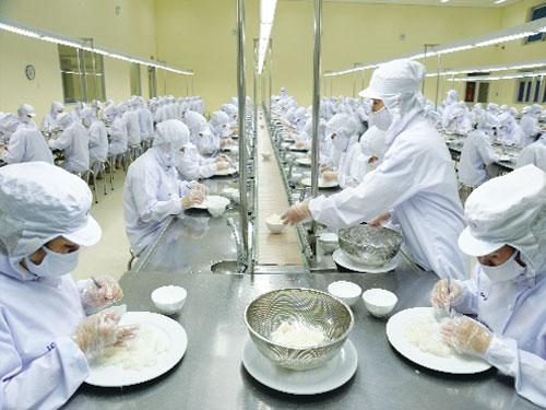 Tuyển 30 Nữ chế biến thực phẩm tại Kanagawa lương, thưởng hấp dẫn