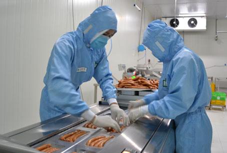Tuyển 13 Nam làm chế biến thực phẩm, xúc xích tại Toyama Nhật Bản