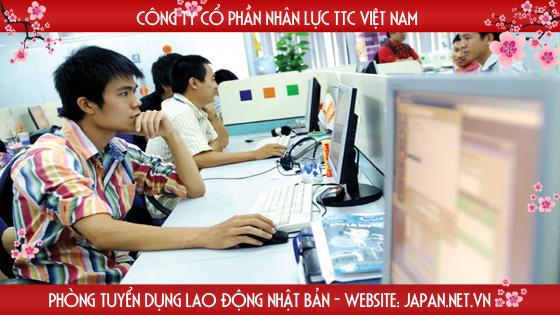 Xuất khẩu lao động Nhật Bản ngành công nghệ thông tin