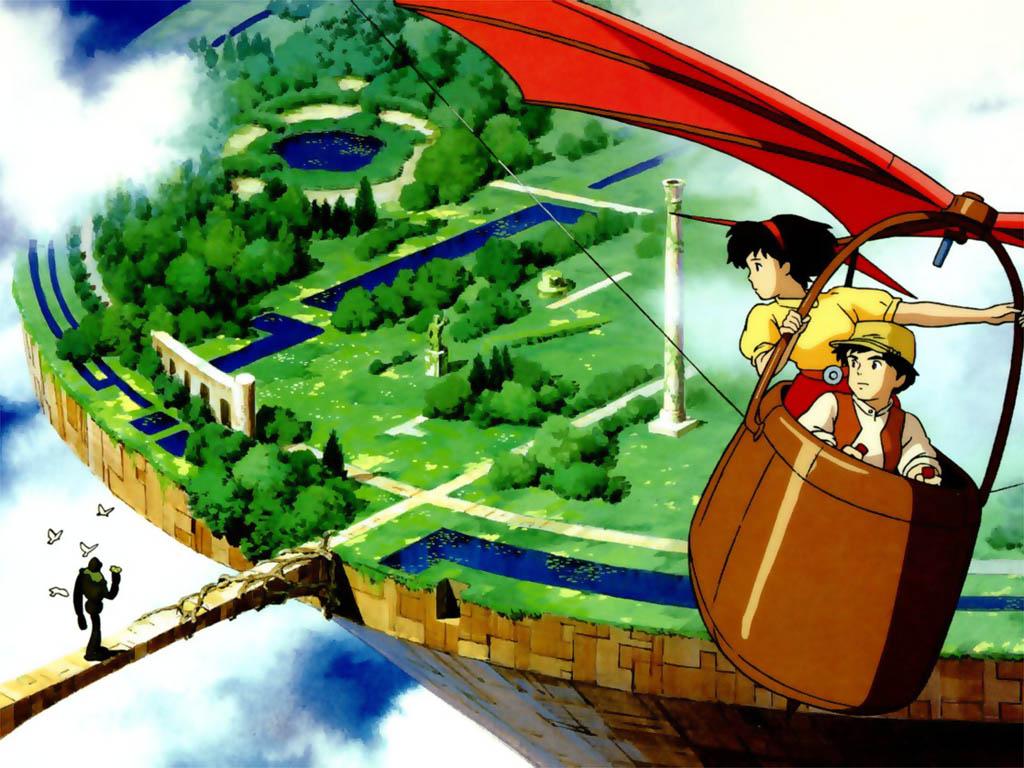 Học tiếng Nhật qua phim hoạt hình Laputa: lâu đài trên không