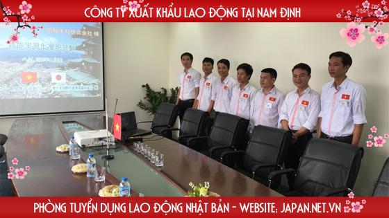 Công ty xuất khẩu lao động Nhật Bản uy tín tại Nam Định