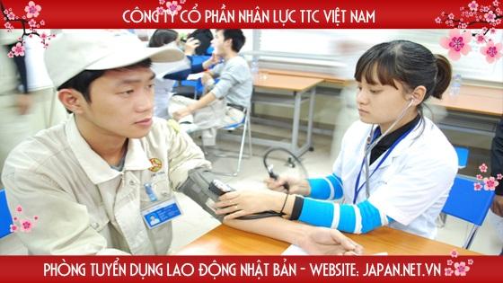 Điều kiện sức khỏe đi xuất khẩu lao động Nhật Bản