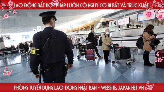Thuộc diện bị cấm đi XKLĐ Hàn Quốc có đi Nhật Bản được không?