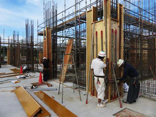 Tuyển gấp 10 nam làm ván khuôn xây dựng lương cao tại Nhật Bản