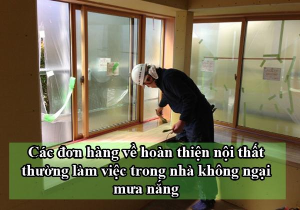 Công việc cụ thể của đơn hoàn thiện nội thất tại Kanagawa