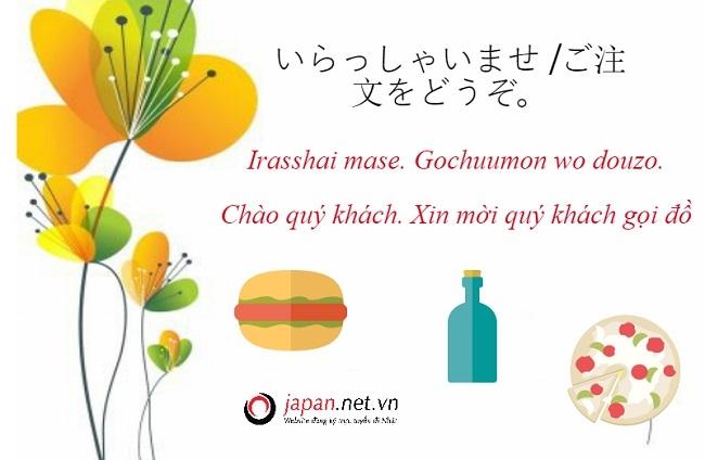 50 mẫu câu tiếng Nhật giao tiếp khi mua hàng, ăn hàng