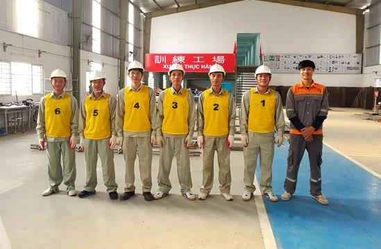 Xuất khẩu lao động làm giàn giáo xây dựng tại Nhật Bản tháng 09/2017
