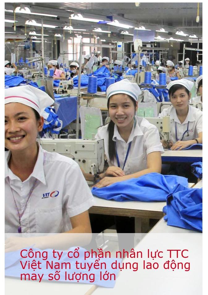 Tuyển thợ may đi xuất khẩu lao động Nhật Bản xuất cảnh đầu năm 2018