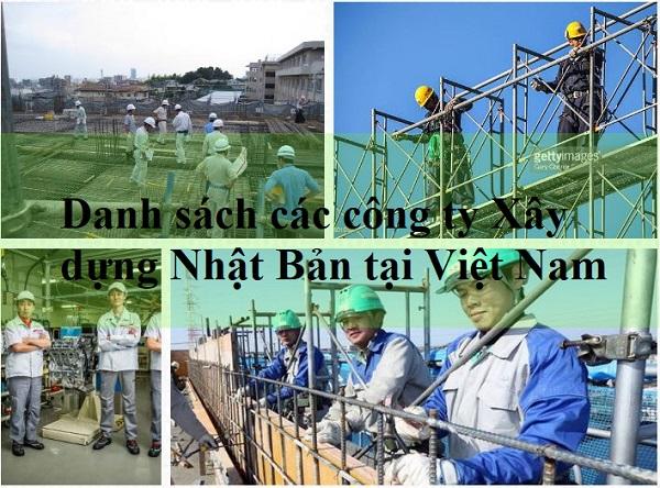 60 công ty xây dựng Nhật Bản uy tín tại Việt Nam