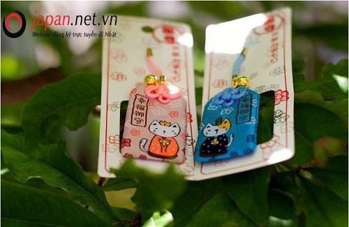 10 loại bùa cầu may nổi tiếng của người Nhật Bản