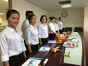 Thi tuyển đơn hàng chế biến thực phẩm 1 năm tại trung tâm đào tạo TTC Việt Nam