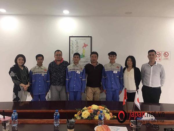 3 thực tập sinh may mắn trúng tuyển đơn hàng xây dựng tổng hợp tại TTC Việt Nam