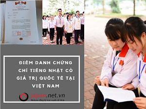 Điểm danh 3 chứng chỉ tiếng Nhật có giá trị quốc tế tại Việt Nam