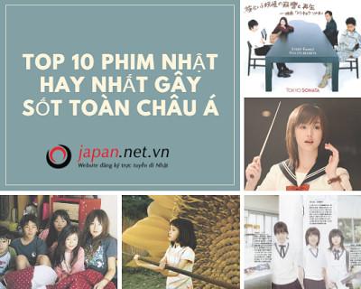TOP 10 phim Nhật hay nhất gây sốt toàn châu Á