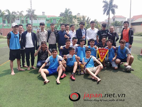 Trung tâm 3 tổ chức giải bóng đá mở rộng dành riêng cho thực tập sinh