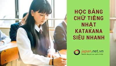 Mẹo học bảng chữ tiếng Nhật katakana siêu nhanh, siêu dễ, nhớ siêu lâu