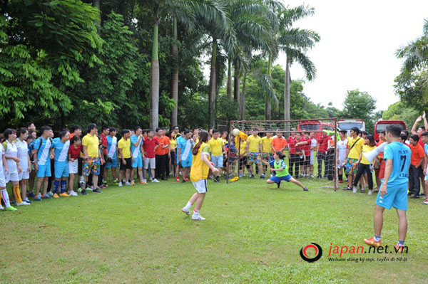 TTC Việt Nam tổ chức giải bóng đá truyền thống dành cho cán bộ nhân viên