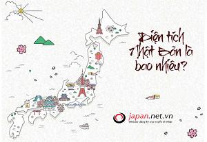 Diện tích Nhật Bản là bao nhiêu? So sánh Diện tích Việt Nam với Nhật Bản