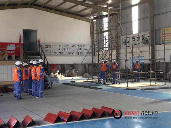 Hoạt động thi tuyển tại trung tâm đào tạo TTC Việt Nam 18/05