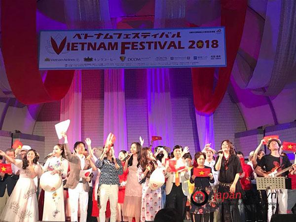 Nhật Bản 24h: Lễ hội Việt Nam taị Nhật Bản 2018 -Sự gắn kết giữa 2 nền văn hóa