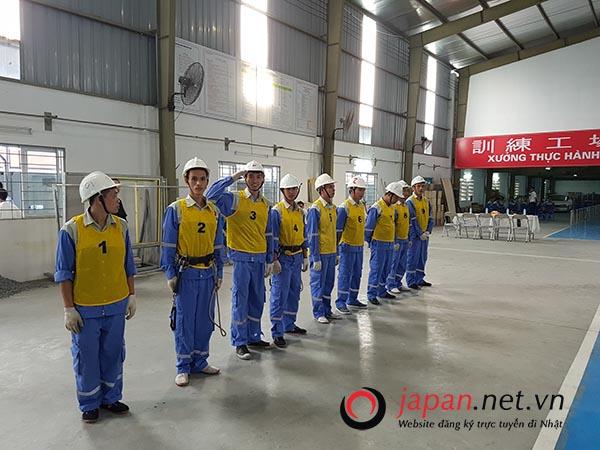 Tổ chức thi tuyển đơn hàng hàn bán tự động tại trung tâm 3 TTC Việt Nam