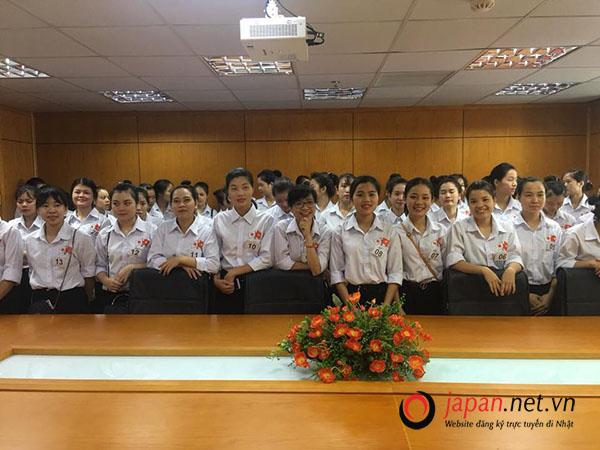 Thi tuyển đơn hàng chế biến thực phẩm mỳ lạnh DO 105 Nam + 63 nữ