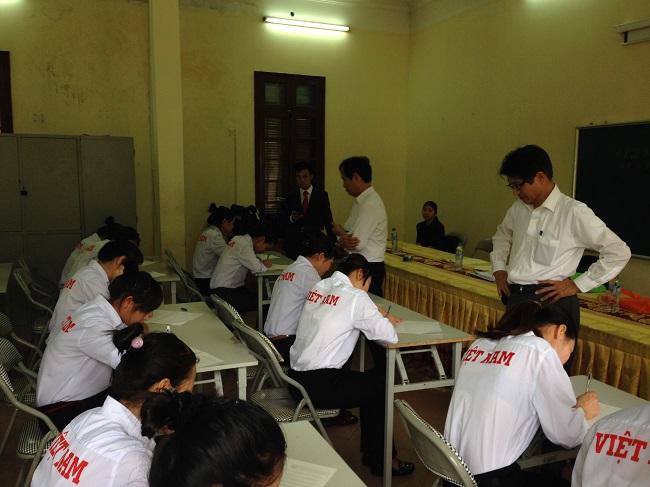 Bài thi viết dành cho thực tập sinh kỹ năng Nhật Bản