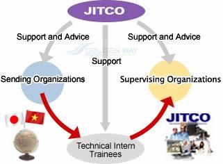Quy trình của chương trình tu nghiệp sinh Nhật Bản