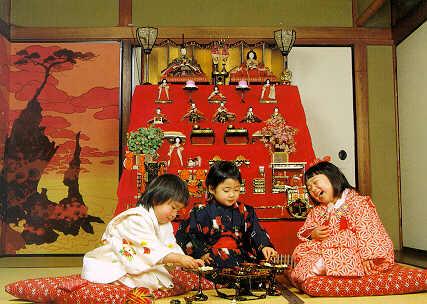 lễ hội bé gái Nhật Bản