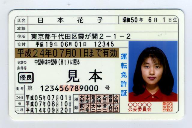 đổi bằng lái xe oto viêt nam sang bằng xe Nhật Bản