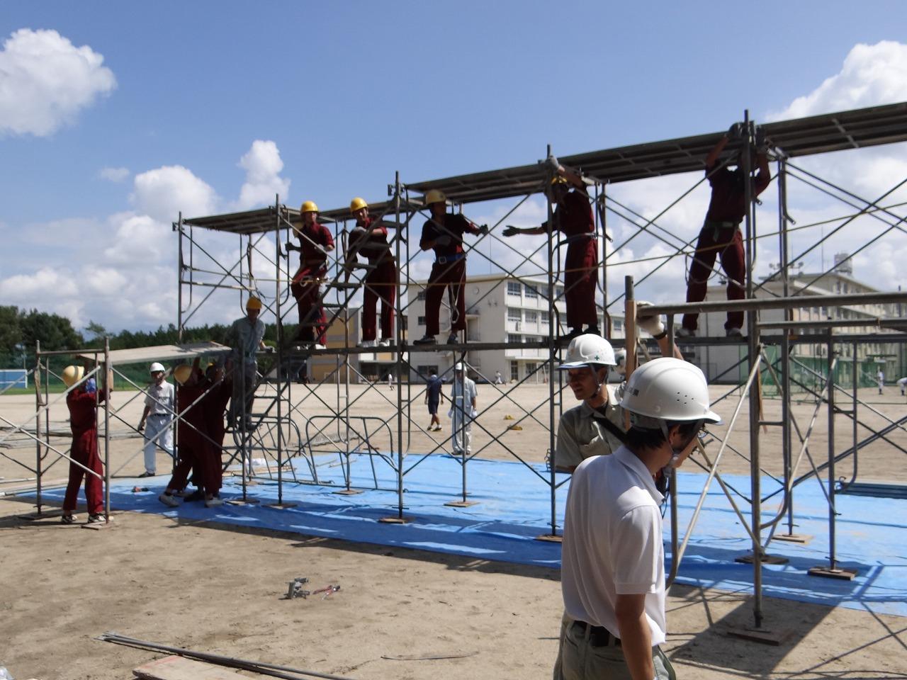 Cần xây lắp thiết bị giàn giáo kiên cố khi khoan cắt bê tông Cầu GIấy