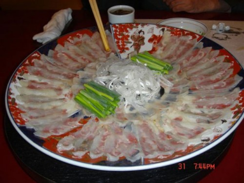 Khám phá ẩm thực Nhật Bản với những món ăn quái dị