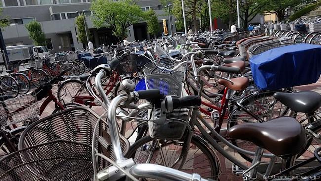 Sự sáng tạo từ bãi đỗ xe đạp Nhật Bản