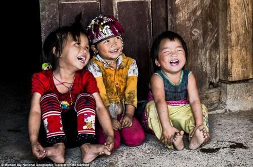 Trẻ em Việt lọt top ảnh đẹp của National Geographic